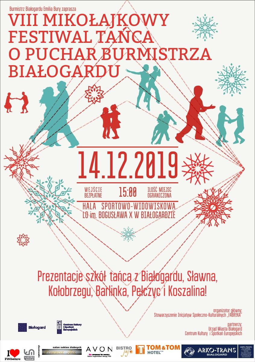 VIII  mikołajkowy festiwal tańca PLAKAT C web.jpg
